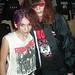 Joey Ramone & fan @ CBGB 2000