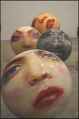 Face Balls (AlisonLOL) Tags: nyc newyorkcity ny newyork art chelsea gallery arty artgallery manhattan culture galleries