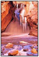 Soda Dam (Rich (Sparky_R)) Tags: snow newmexico ice river nikon dam 85mm soda nikkor jemez d300 85mmf18d sparkyr top20nm