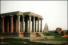 Virupaksha Temple - Hampi (bohemian2005) Tags: india karnataka anoop bohemian hampi noop anoopv