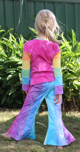 Rainbow Paula Pants & Antonia - back