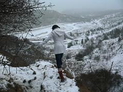 winter wonderland (robinbenito) Tags: snow high cool loraine oppenheim whitecoat steinbruch quarrel nierstein lorid