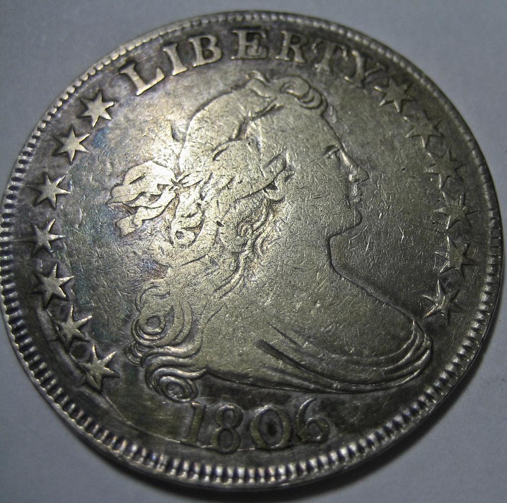 1806 Draped Bust Half Dollar 02/05/09