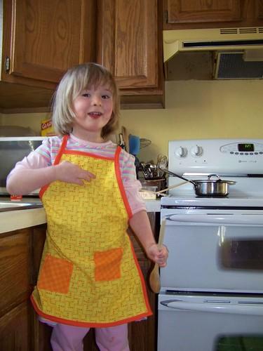 C's apron