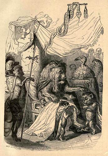 017- Jornada de un leon africano en Paris y lo que sucedio