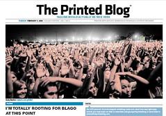 Exemplar do Printed Blog