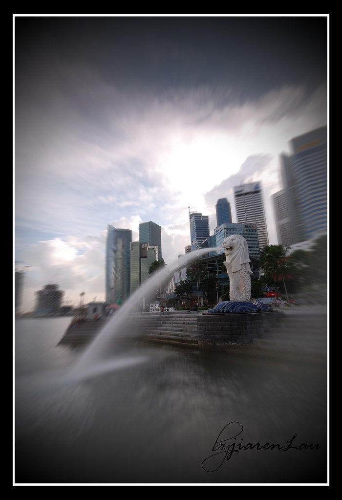 Ok ok, heres a proper picture of the Merlion.