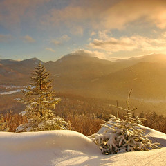 Friday afternoon (Lenscap) Tags: winter mountains adirondacks adirondack