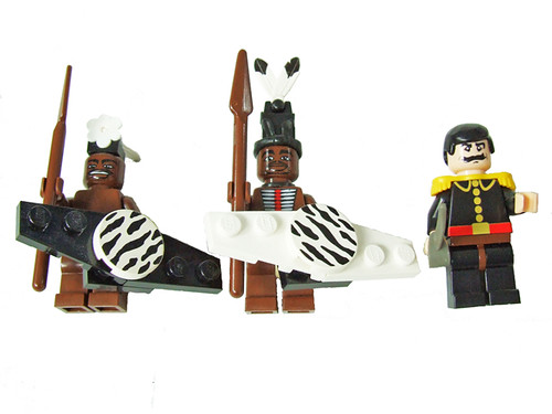 Lego Zulu warriors