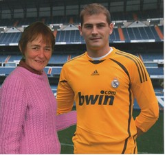 Dolores and Iker Casillas