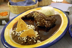Mole oaxaqueno con pollo (sammi) Tags: food mexico huatulco