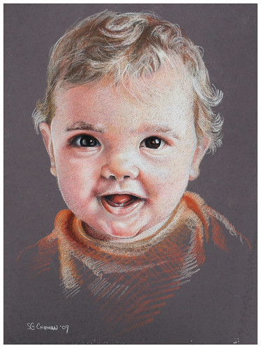 Colored pencil drawing of my son.