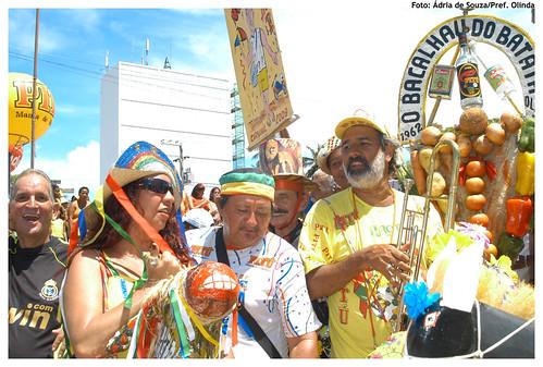 Bacalhau do Batata em 2009. Foto: Ádria de Souza/Prefeitura de Olinda