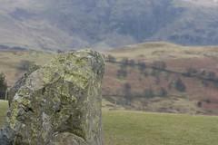 Castlerigg Stone (BinaryApe) Tags: uk stone circle religion lichen keswick pagan neolithic castlerigg standingstone thelakedistrict ef70300mmf456isusm
