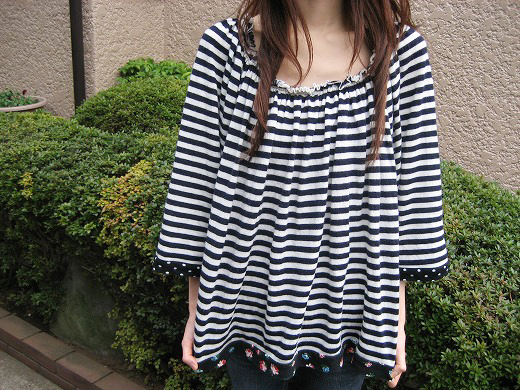 Easy striped tops from Sunao Kuwahara