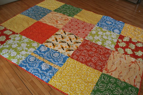 sunny quilt
