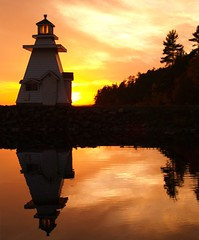 For Whom the Bell Tolls (reflectionsofthenorth) Tags: lighthouse ontario nature lakehuron northernontario naturephotography algoma ontarionature spanishontario abigfave algomaontario
