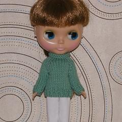 Spearmint Chunky Sweater