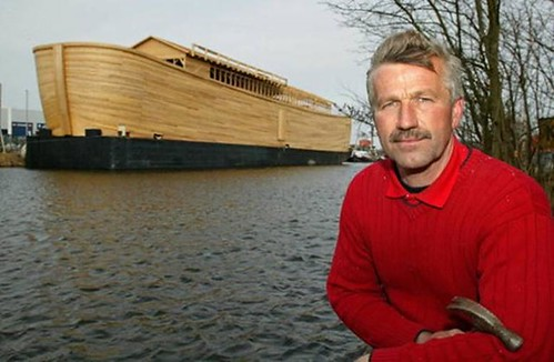 man builds noah s ark
