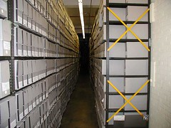 National Archives storage