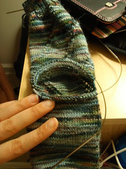 afterthough heel stitches