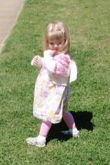 Catie on Easter Sunday