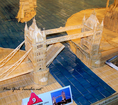 London Tower toothpicks
