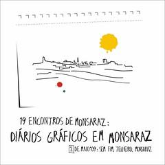 Diários gráficos em Monsaraz