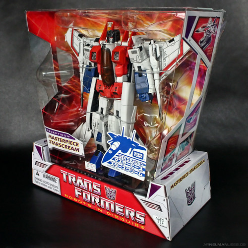 Masterpiece Starscream (U.S. ver.)