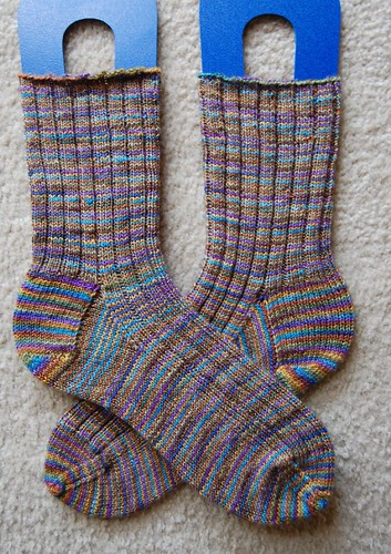 FO: ribbed socks