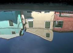 upside - down (2)... (Blue Spirit - heart took control) Tags: venice colors reflections upsidedown venezia colori riflessi burano