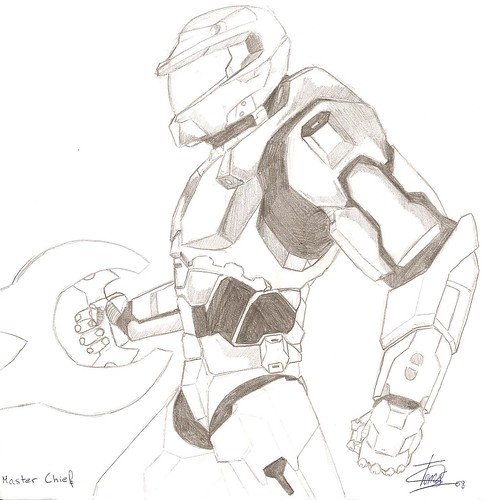"Flickr: Discussing 1º concurso de Halo Hispano ""Fanart"" in HALO ..."