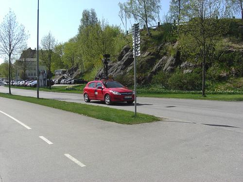 Google car at Borås