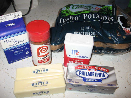 Creamy Mashed Potatoes Ingredients