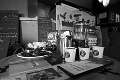 Coffee Culture (LRCAN) Tags: coffee corner nikon culture cups starbucks experience tasting press lorcan blackwhitephotos d40x lorcanpictures