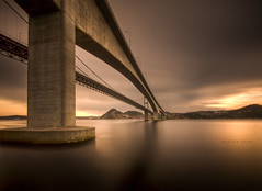 High above (mortenprom) Tags: ocean longexposure morning bridge roof light sunset red sea sky orange brown house black color green beach nature water yellow norway architecture clouds landscape island golden norge spring bravo rocks skandinavien norwegen wideangle explore shore april noruega scandinavia peninsula 2009 soe kristiansand noorwegen noreg sigma1020mm skandinavia addictedtoflickr vestagder nd1000 mywinners nd30 platinumphoto varoddbrua canoneos40d theunforgettablepictures platinumheartaward nd1000x rubyphotographer naturaldensityfilter micarttttworldphotographyawards micartttt mortenprom addictedtohighquality topdalsfjorden michaelchee