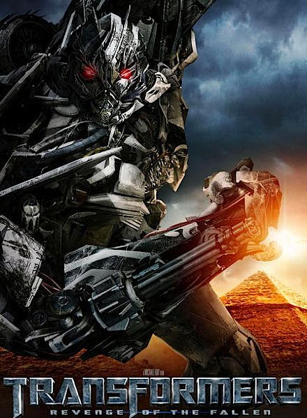 New Transformers: Revenge of The Fallen Character Posters