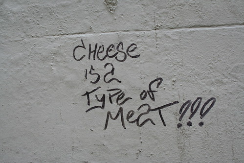 Cheese is a type of Meat!!!