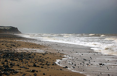 Cromer sea at Cromer (Jeremy Webb Photography) Tags: winter coast seaside norfolk shoreline stormy cromer stormsky jezza jeremywebb