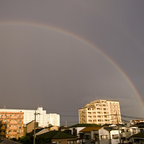 Double Rainbow over Kasai
