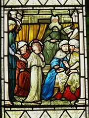 North chancel window - All Saints - Middleton Cheney