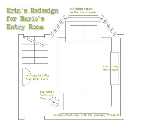 Erin's Floorplan for Marie's Redesign