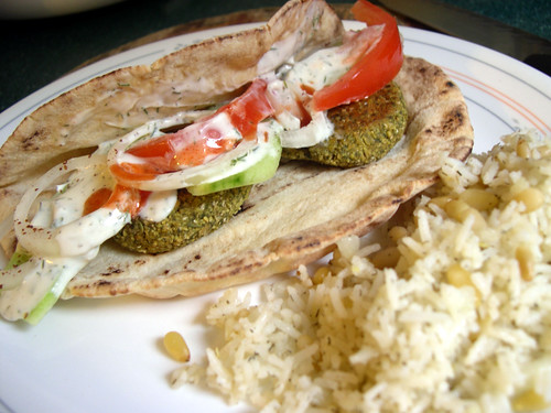 The Vegan Mouse: Lazy Falafel.