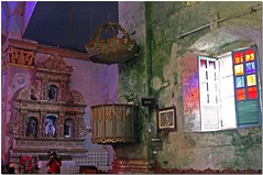 Immaculada Concepcion Church in Baclayon, Bohol - Sermon Pulpit (JoLiz) Tags: wood old church interestingness tour antique philippines platform concepcion carving historic explore spanish national bohol restored preserved pk fp frontpage sermon pulpit jesuit baclayon augustinian top500 recollect explored immaculada pinoykodakero joliz garbongbisaya