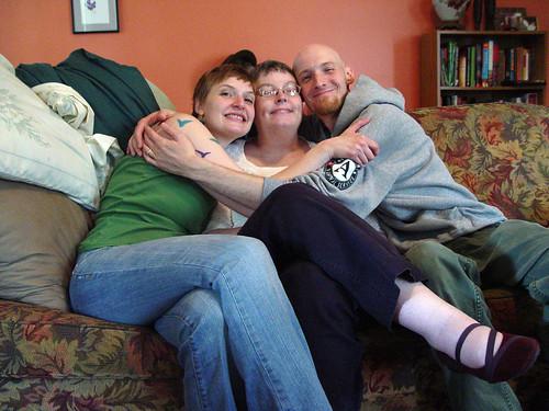Family Hug!