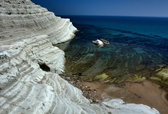 Scala dei Turchi (Erik Kruthoff Photography) Tags: sea italy white beach rock rocks italia mare formation scala sicily geology dei sicilia agrigento turchi