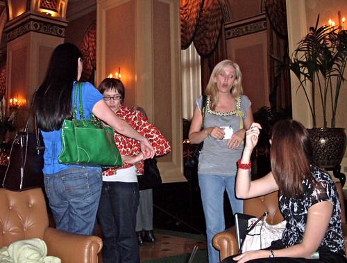 Heather, Laura, Jona, Jessica