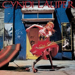 Cyndi Lauper - She's So Unusual (1983) (cover)