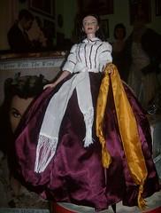 new  22 inch Tonner Scarlett good bye to Ashley dress (scarlett283) Tags: costumes film scarlet gonewiththewind gwtw scarlettohara roberttonner 22inchdoll americanmodeldoll