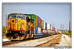 Load of Colors (Saqib Karori - TucsonRailfan) Tags: arizona up train tucson trains karori railfanning saqib sunsetroute unionpacfici
